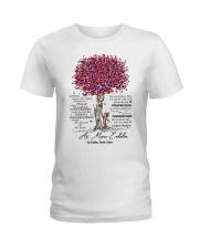 family mug - to granddaughter - never lose Ladies T-Shirt thumbnail