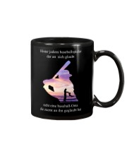 baseball mug - to Mom -  baseball player Mug front
