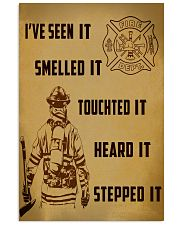 Firefighter Poster 11x17 Poster front