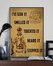 Firefighter Poster 11x17 Poster lifestyle-poster-2