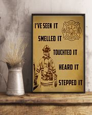 Firefighter Poster 11x17 Poster lifestyle-poster-3