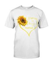 sunflower mug - being a Nana Premium Fit Mens Tee thumbnail