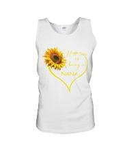 sunflower mug - being a Nana Unisex Tank thumbnail