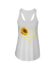 sunflower mug - being a Nana Ladies Flowy Tank thumbnail