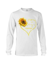 sunflower mug - being a Nana Long Sleeve Tee thumbnail