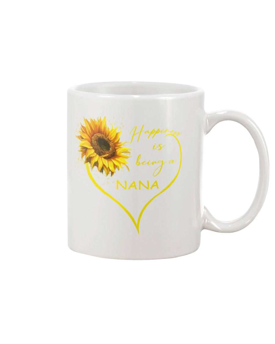 sunflower mug - being a Nana Mug