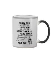 To my son good time Color Changing Mug thumbnail