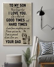 To my son good time 11x17 Poster lifestyle-poster-1