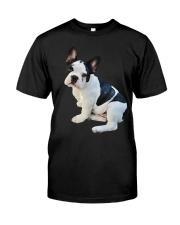 Frenchie French Bulldog Photo Novelty Gift Men Wom Classic T-Shirt front