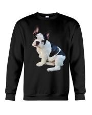 Frenchie French Bulldog Photo Novelty Gift Men Wom Crewneck Sweatshirt thumbnail