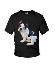 Frenchie French Bulldog Photo Novelty Gift Men Wom Youth T-Shirt thumbnail