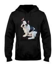Frenchie French Bulldog Photo Novelty Gift Men Wom Hooded Sweatshirt thumbnail
