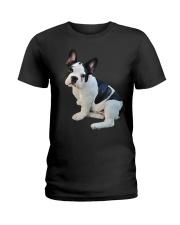 Frenchie French Bulldog Photo Novelty Gift Men Wom Ladies T-Shirt thumbnail