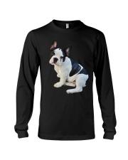 Frenchie French Bulldog Photo Novelty Gift Men Wom Long Sleeve Tee thumbnail