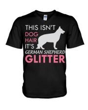 German Shepherd Dog German Shepherd Shirt GSP Pets V-Neck T-Shirt thumbnail