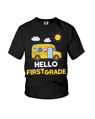 Hello First Grade Funny 1st Grade Back To School