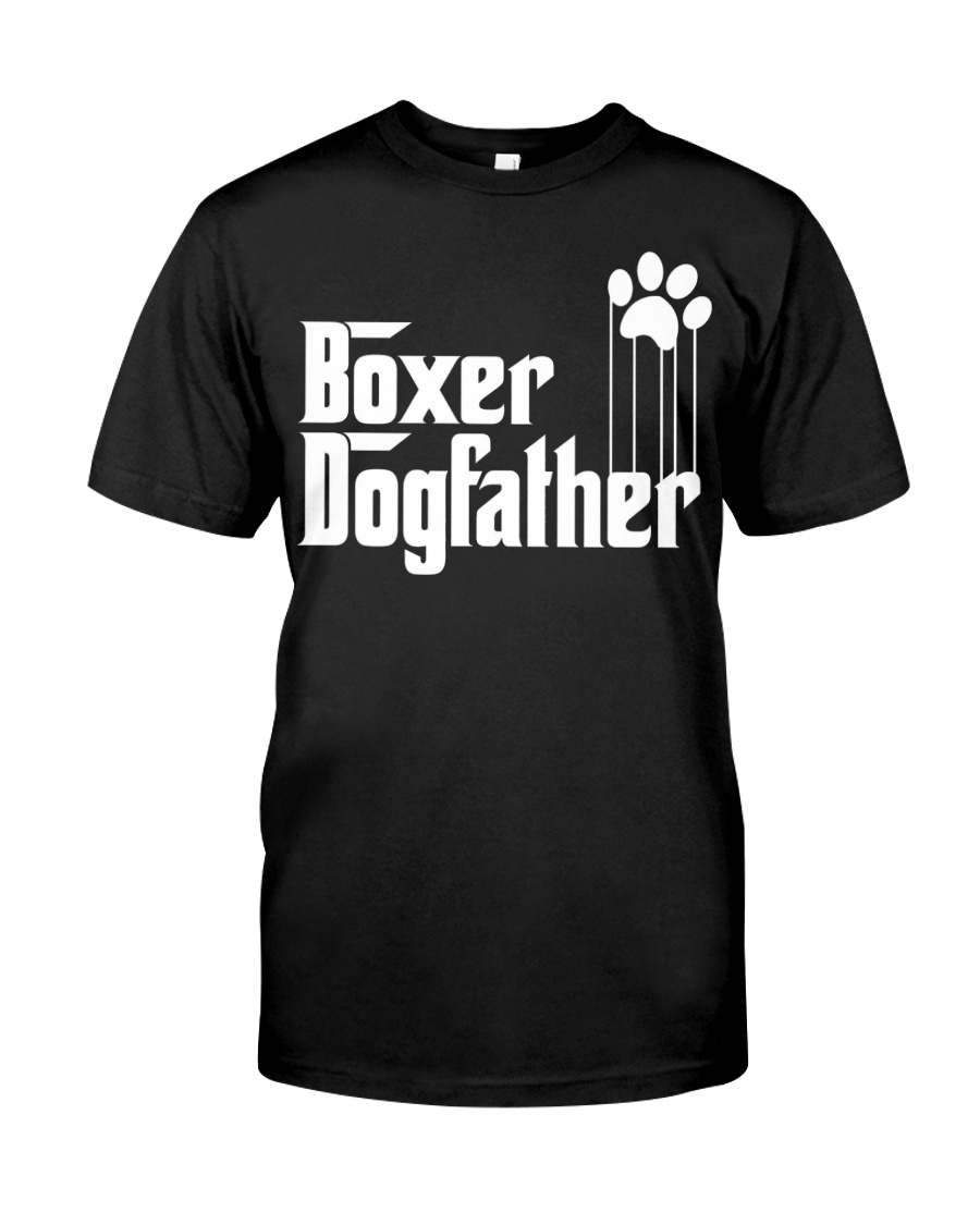 Boxer Dog Dad - Boxer Lovers Classic T-Shirt