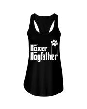 Boxer Dog Dad - Boxer Lovers Ladies Flowy Tank thumbnail