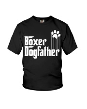Boxer Dog Dad - Boxer Lovers Youth T-Shirt thumbnail