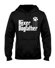 Boxer Dog Dad - Boxer Lovers Hooded Sweatshirt thumbnail
