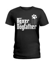 Boxer Dog Dad - Boxer Lovers Ladies T-Shirt thumbnail