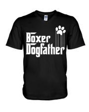 Boxer Dog Dad - Boxer Lovers V-Neck T-Shirt thumbnail