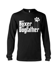 Boxer Dog Dad - Boxer Lovers Long Sleeve Tee thumbnail