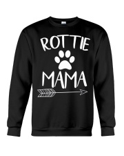 Rottie Mama - Rottweiler Lovers Crewneck Sweatshirt thumbnail