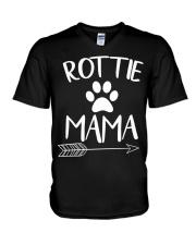 Rottie Mama - Rottweiler Lovers V-Neck T-Shirt thumbnail