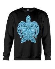 Royal Sea Turtle Crewneck Sweatshirt thumbnail