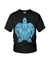 Royal Sea Turtle Youth T-Shirt thumbnail