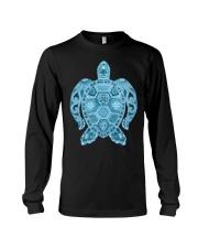 Royal Sea Turtle Long Sleeve Tee thumbnail