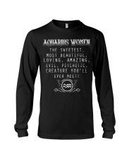 AQUARIUS WOMEN Long Sleeve Tee thumbnail