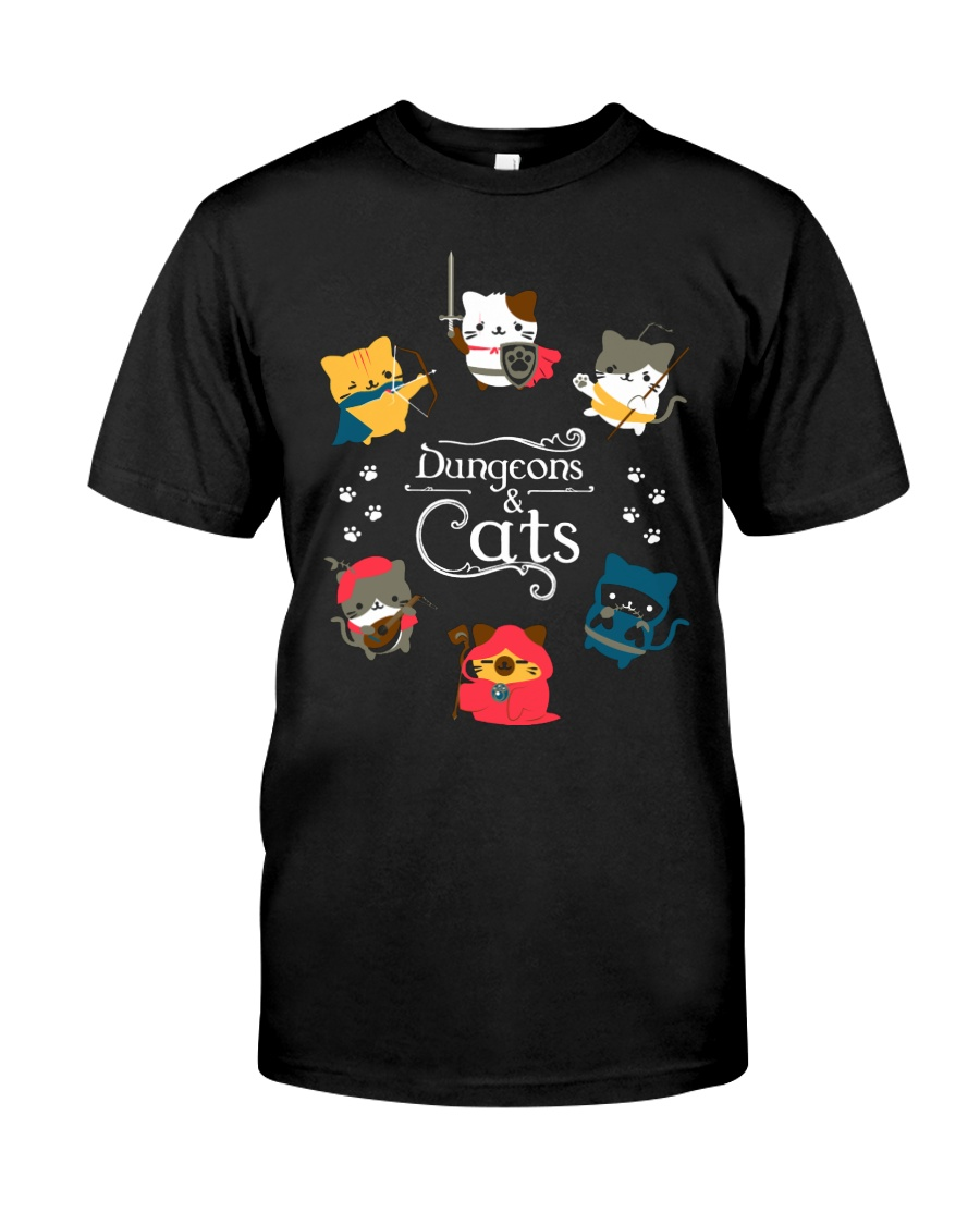 Dungeons And Cats 2 Classic T-Shirt