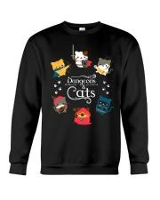 Dungeons And Cats 2 Crewneck Sweatshirt thumbnail