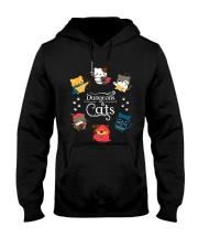 Dungeons And Cats 2 Hooded Sweatshirt thumbnail
