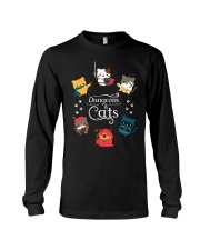Dungeons And Cats 2 Long Sleeve Tee thumbnail