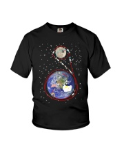 Apollo 11 in one simple cartoon Youth T-Shirt thumbnail