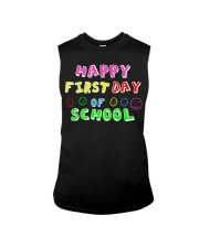 First Day Of School Teaching Back To school Sleeveless Tee thumbnail