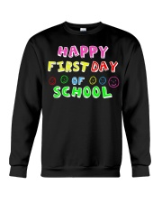 First Day Of School Teaching Back To school Crewneck Sweatshirt thumbnail