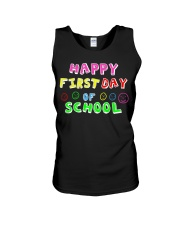 First Day Of School Teaching Back To school Unisex Tank thumbnail