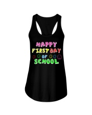 First Day Of School Teaching Back To school Ladies Flowy Tank thumbnail