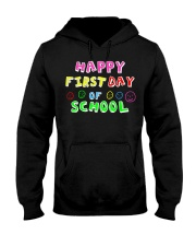 First Day Of School Teaching Back To school Hooded Sweatshirt thumbnail