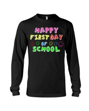 First Day Of School Teaching Back To school Long Sleeve Tee thumbnail