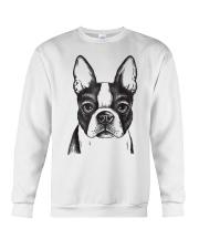 Painted Boston Terrier French Bulldog Puppy T Shir Crewneck Sweatshirt thumbnail