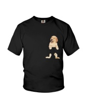 Golden Retriever In Your Pocket Youth T-Shirt thumbnail