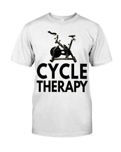Funny Pun Indoor Spin Class Cycletherapy Cycling