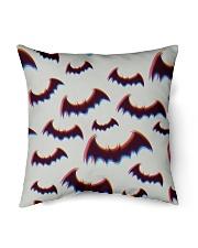 "Halloween bats Indoor Pillow - 16"" x 16"" thumbnail"