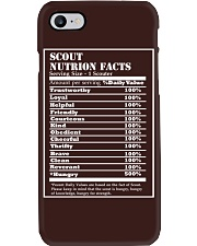 SCOUT NUTRITION FACTS Phone Case thumbnail
