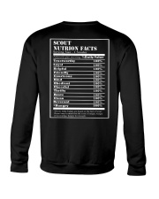 SCOUT NUTRITION FACTS Crewneck Sweatshirt back